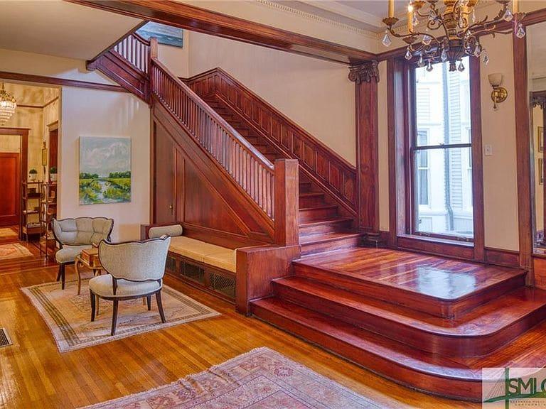1910 Walker Mansion For Sale In Savannah Georgia