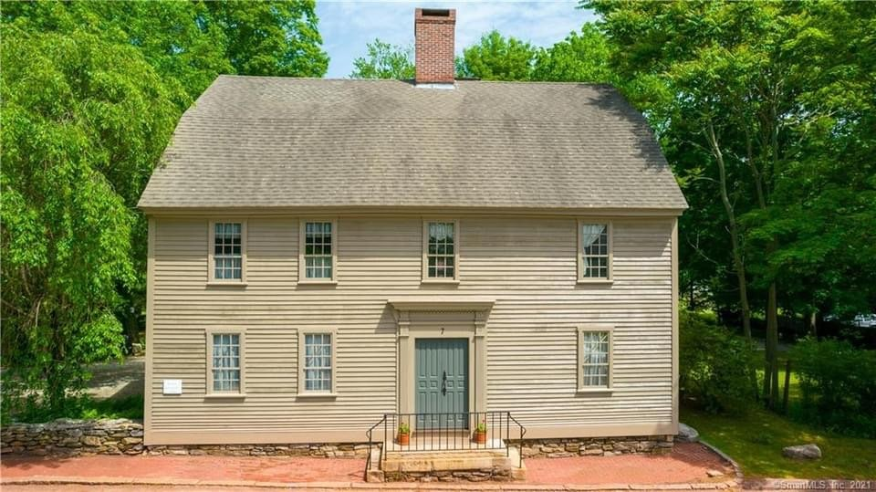 1744 Colonial For Sale In Norwich Connecticut