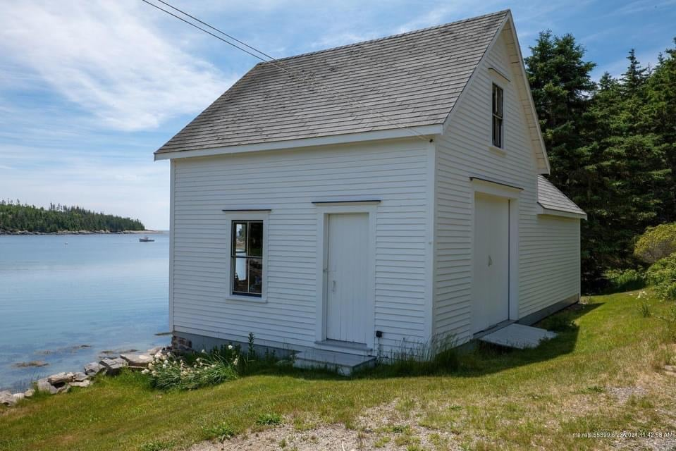 1911 Historic House For Sale In Isle Au Haut Maine