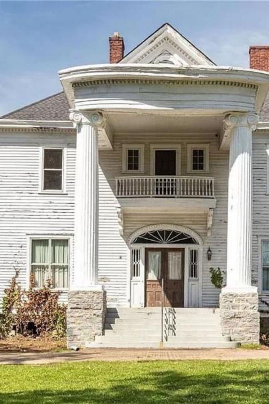 1830 Greek Revival For Sale In Monroe Georgia