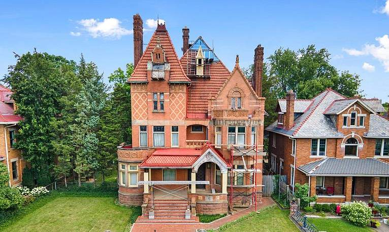 1900 Mansion For Sale In Columbus Ohio — Captivating Houses