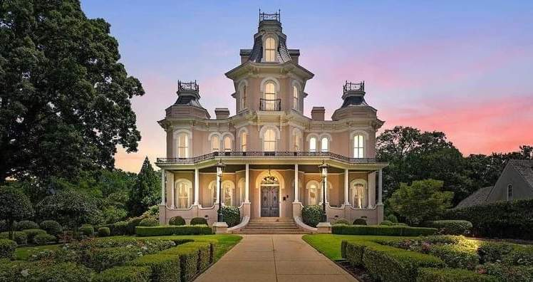 1877 Second Empire For Sale In Greenville South Carolina — Captivating Houses