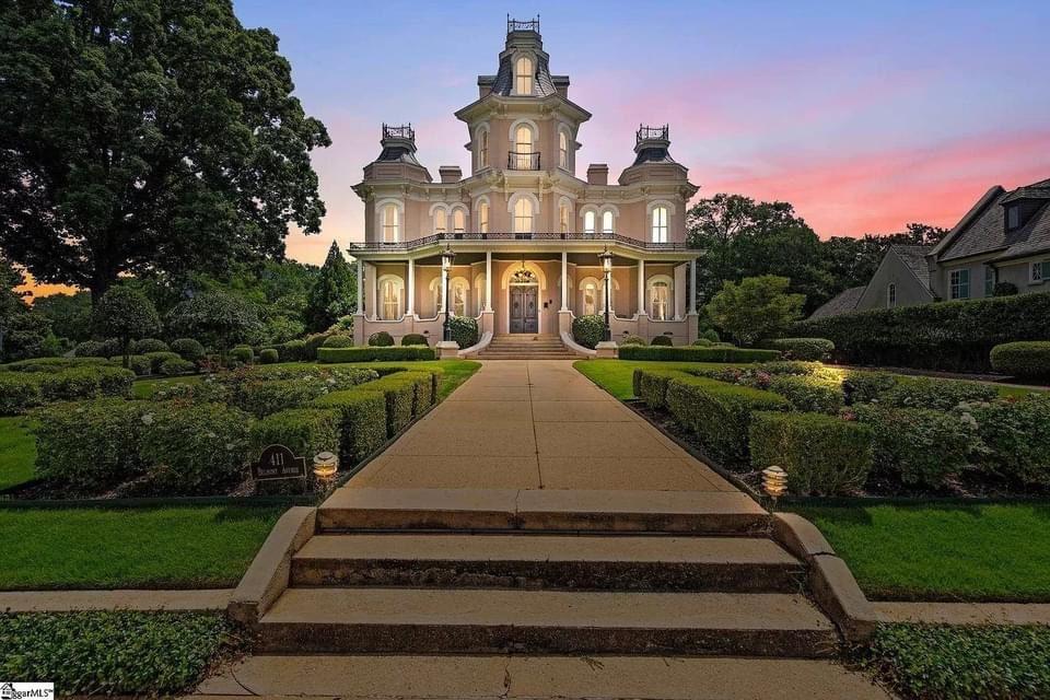 1877 Second Empire For Sale In Greenville South Carolina