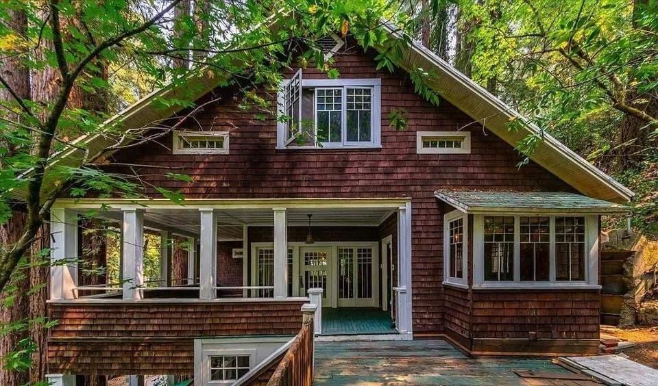 1917 Craftsman Style House For Sale In Guerneville California — Captivating Houses