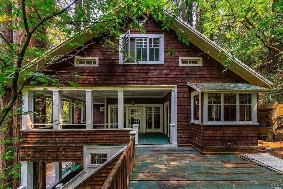 1917 Craftsman Style House For Sale In Guerneville California