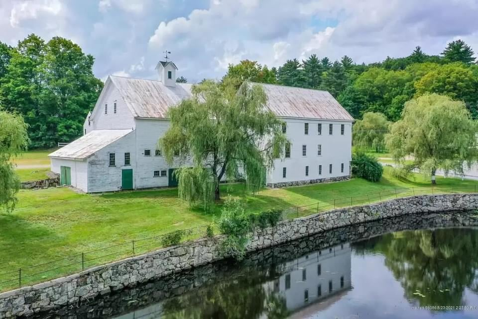 1813 Farmhouse For Sale In Newfield Maine