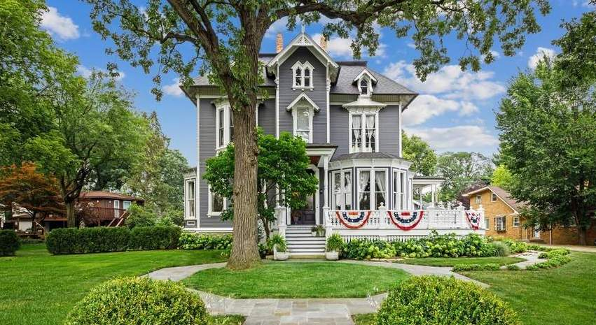1878 Gothic Revival For Sale In Riverside Illinois — Captivating Houses