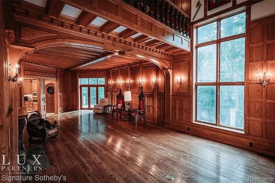 Unique Castle For Sale In Rochester Michigan