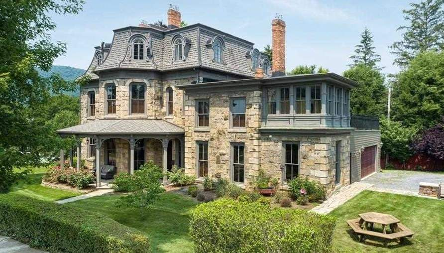 1870 Second Empire For Sale In Bellefonte Pennsylvania — Captivating Houses
