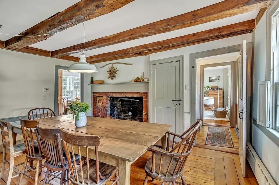 1800 Colonial For Sale In Alna Maine